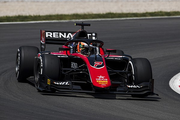 FIA Fórmula 2 Crónica de Carrera Aitken gana la segunda carrera de la F2 en Barcelona