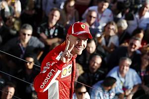 Formula 1 Son dakika Ferrari ve Vettel'in galibiyet sonrası yaşadıkları sevinç