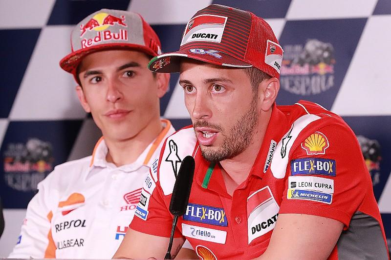 Terpaut jauh, Dovizioso enggan pikirkan Marquez