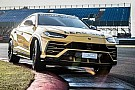 Automotive Lamborghini Urus dresses up to be Super Trofeo Europe Lead Car