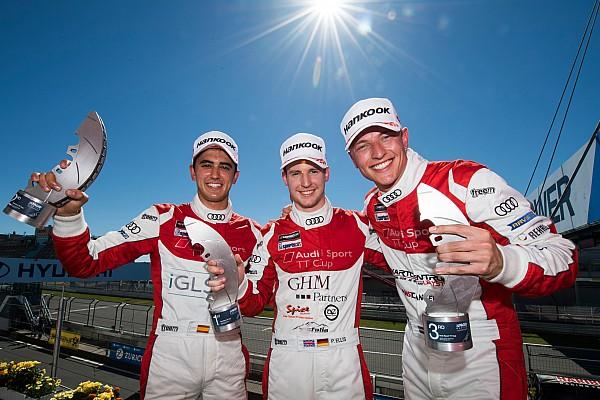 Tourenwagen Rennbericht Audi TT Cup: Philip Ellis bleibt der Beste