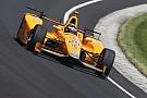 IndyCar Алонсо сошел в Indy 500 из-за отказа мотора