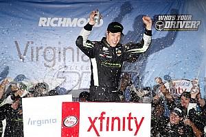 NASCAR XFINITY Race report Keselowski takes Richmond Xfinity win after late-race pass on Busch