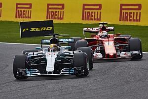 Hamilton/Vettel : l'évolution chiffrée du duel 2017