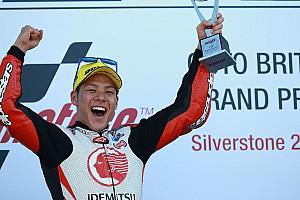 Moto2 Raceverslag Nakagami blijft Pasini net voor en wint GP Groot-Brittannië