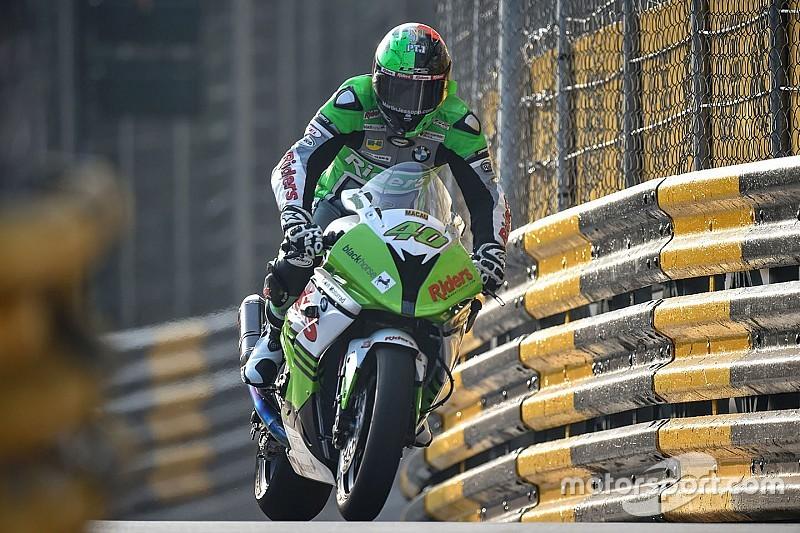 Macau GP: Jessopp grabs bike pole
