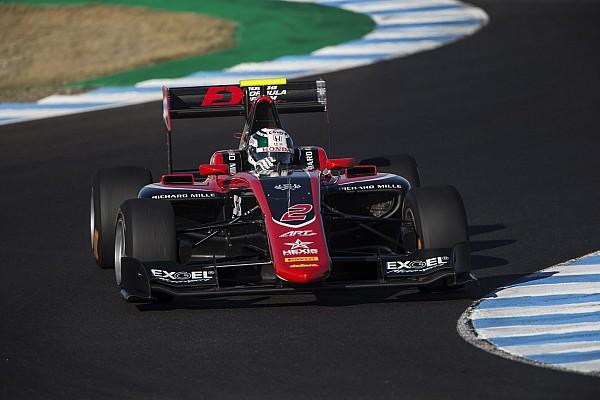 Jerez GP3: Fukuzumi beats Aitken, Russell to pole