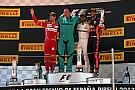 Hamilton le ganó un gran duelo a Vettel en España