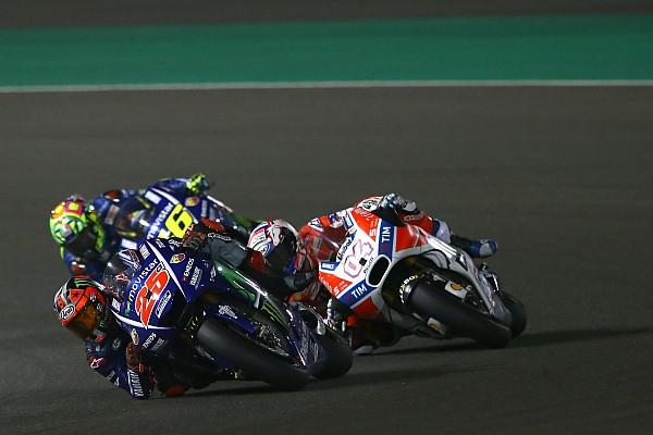 MotoGP Rennbericht MotoGP-Auftakt 2017 in Doha: Vinales siegt vor Dovizioso und Rossi