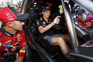 Supercars star introduces Verstappen to classic driving technique