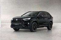 Szénfekete festésű különleges sorozatot kap a Toyota RAV4 Hybrid