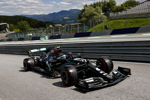 "Mercedes in its ""own league"" in Austria, admits Bottas"