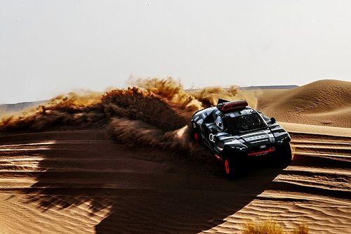 """Sainz, ante su reto """"más grande"""" con Audi en el Dakar"""