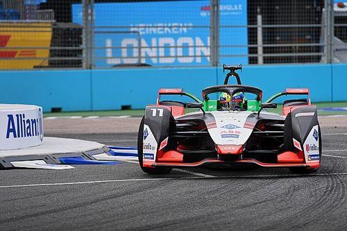London E-Prix: Di Grassi leads Dennis in final practice