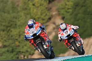 Dovizioso : les bons temps en tests