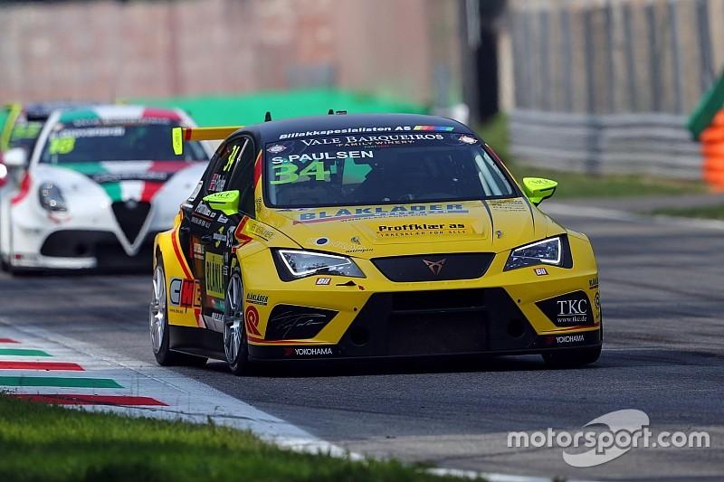 Un weekend da dimenticare per Paulsen a Monza: