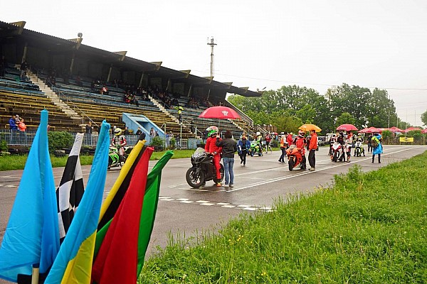 UASBK Репортаж з гонки Перший етап UASBK почався дощовими та змішаними заїздами