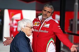 Формула 1 Новость Экклстоун посоветовал Ferrari нанять Арривабене помощника