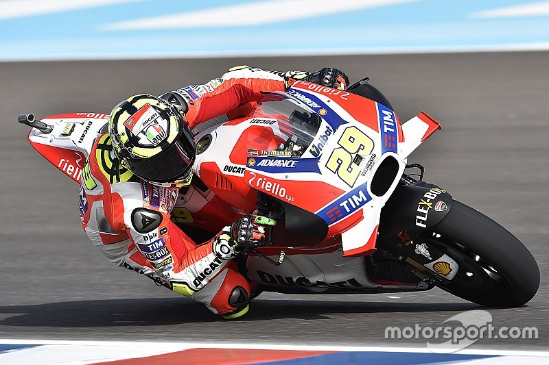 """Iannone says Ducati was a """"disaster"""" in Argentina practice"""