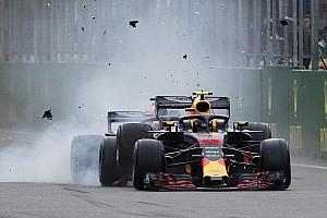 Formule 1 Diaporama L'accrochage Verstappen-Ricciardo en images