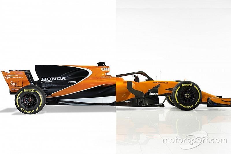 Vergleich: McLaren MCL32 vs. McLaren MCL33 für die Formel 1 2018