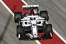 Formule 1 Photos - L'Alfa Romeo Sauber C37 a pris la piste!