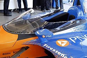 IndyCar Elemzés Halo Vs. szélvédő: grafikai összehasonlítás a fejvédő rendszerekről (F1-IndyCar)