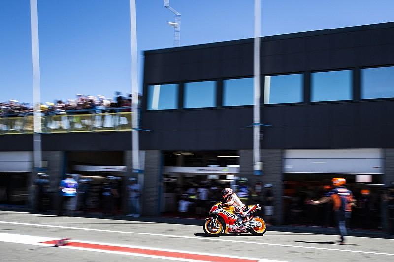 Marquez topt warm-up Dutch TT Assen