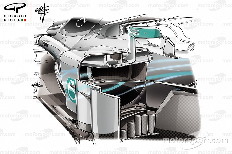 FIA: Espelhos da Mercedes cumprem regulamento