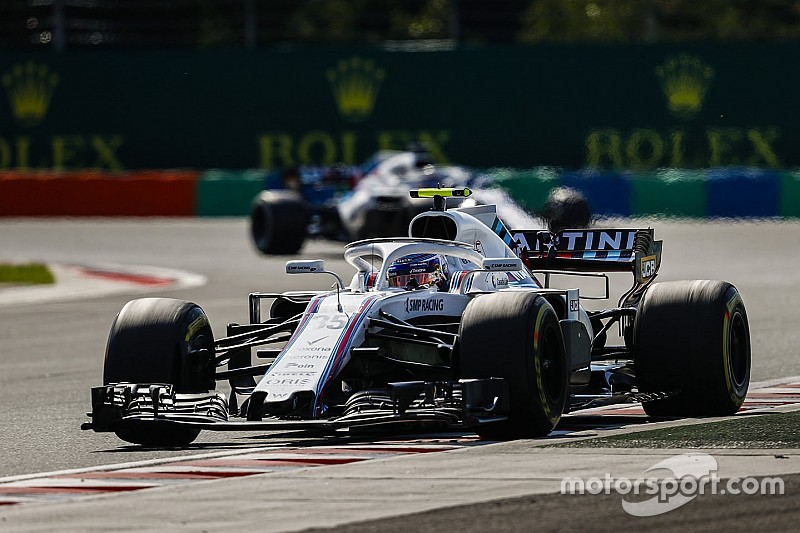 Williams drivers an
