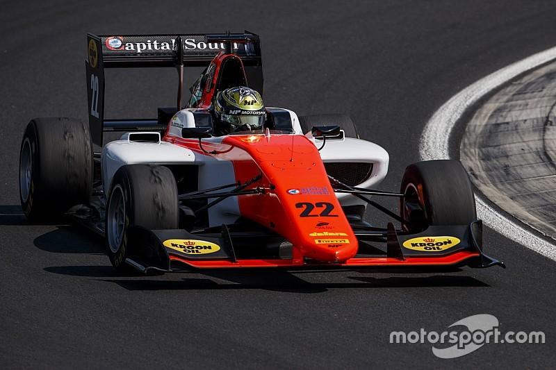 Hungaroring GP3: Boccolacci takes lights-to-flag sprint race win