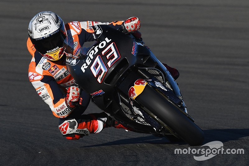 Marc Marquez Ends Valencia Motogp Test On Top