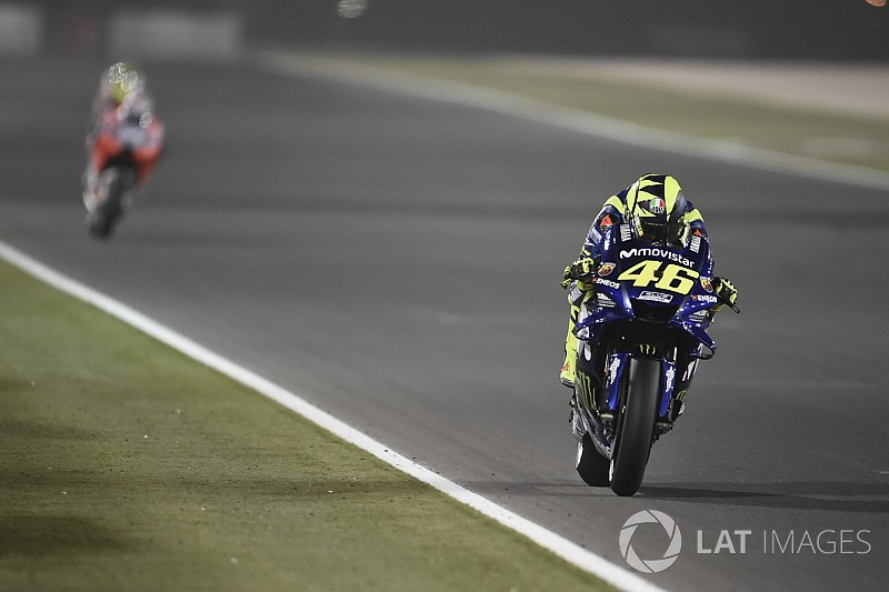 """Rossi: """"Doel was tweede rij, maar het was niet genoeg"""""""