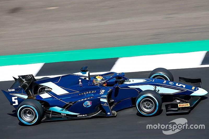 F2 Silverstone: Albon kazandı, Russell pitte sorun yaşadı