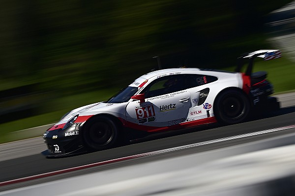 IMSA Practice report Lime Rock IMSA: Porsches dominate both GT classes in FP3