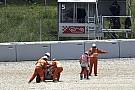 Dovizioso admet avoir trop forcé pour suivre Lorenzo et Márquez