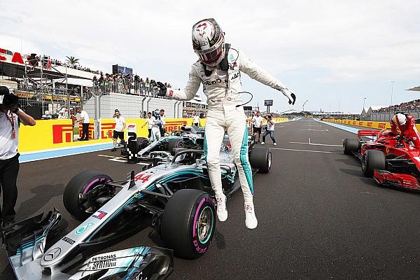 Formule 1 Résultats La grille de départ du GP de France