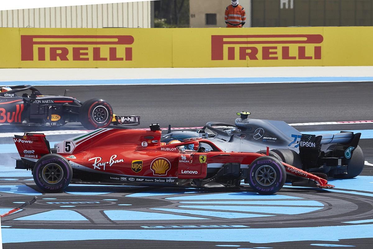 Nach Bottas-Karambolage: Mercedes nimmt Vettel in Schutz