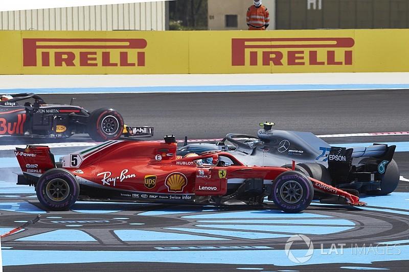 Mercedes dice que los errores de Vettel pueden ser clave para el título