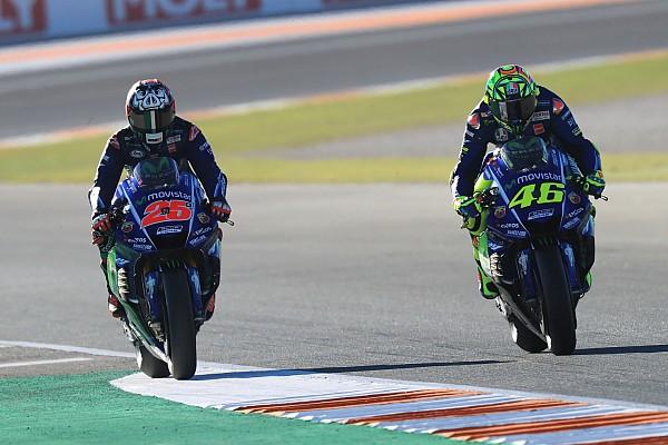 В Yamaha оценили обратную связь от Росси выше, чем от Виньялеса