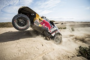 Dakar Rapport d'étape Autos, étape 5 - Peterhansel prend une option sur la victoire finale