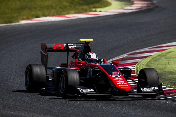 GP3 Prove libere Nirei Fukuzumi detta legge nelle Libere di Barcellona