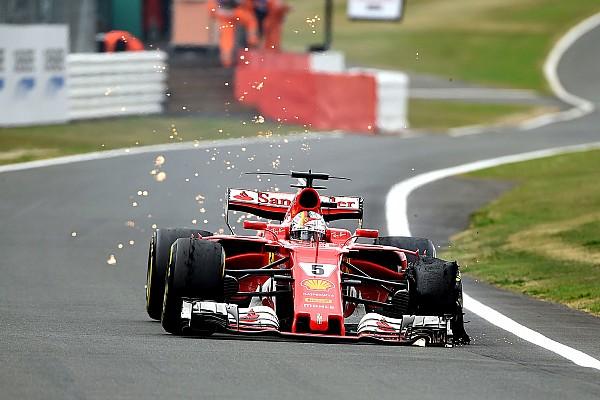 Pirelli, Vettel'in lastik patlatmasının sebebinin asla bulunamayacağını söyledi