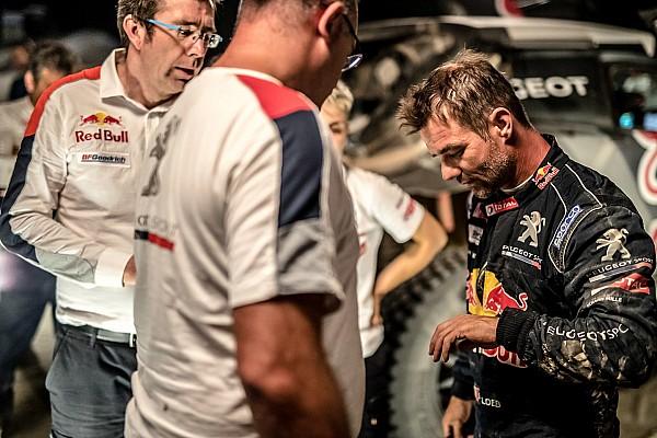 Sebastien Loeb abandona el rally Silk Way debido a lesión
