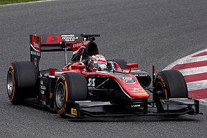 "FIA F2 テストレポート 【F2】""新生F2""初テスト。松下信治が記念すべきトップタイム"