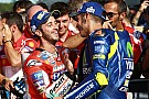 """MotoGP Mooie woorden van Rossi: """"Iedereen kan van Dovizioso leren"""""""