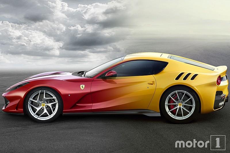 Photos - Comparez les Ferrari 812 Superfast et F12tdf