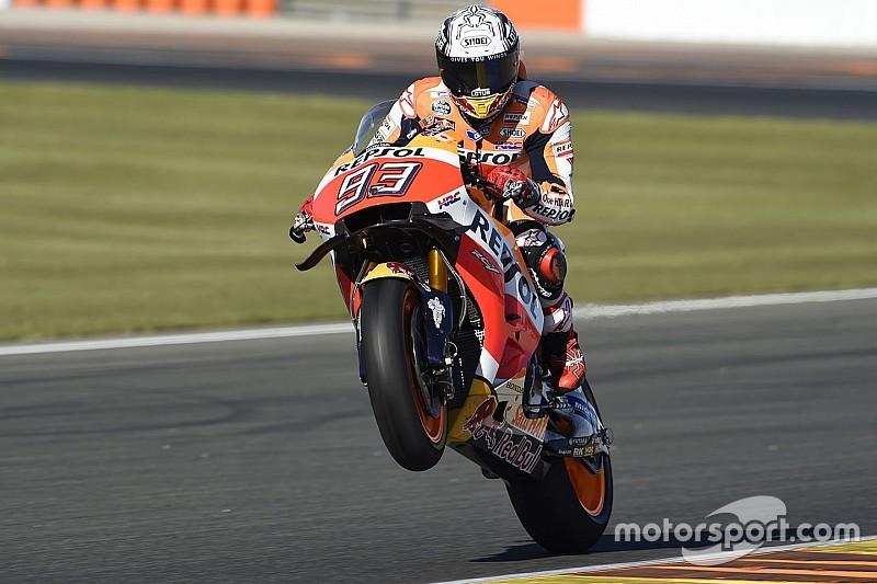 Marquez says wheelie reduction main target for 2017 Honda