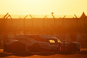 24 heures du Mans Résumé de course H+8 - Les espoirs de la Toyota #8 partent en fumée