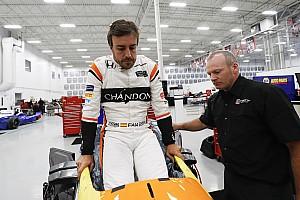 IndyCar Vista previa Fernando Alonso, listo para el programa de orientación en Indy